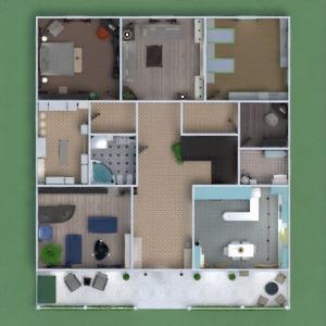 floorplans apartamento casa terraza muebles decoración bricolaje cuarto de baño dormitorio salón garaje cocina exterior habitación infantil reforma hogar comedor arquitectura trastero descansillo 3d