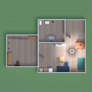 floorplans apartment garage 3d