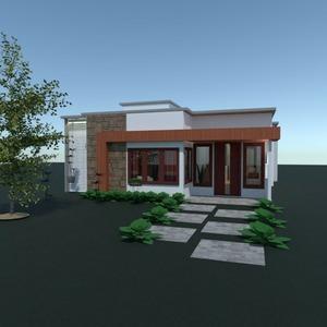 planos casa decoración exterior despacho arquitectura 3d