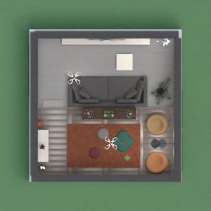 floorplans wystrój wnętrz pokój dzienny 3d