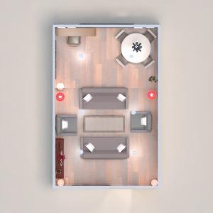 progetti appartamento sala pranzo 3d