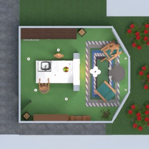 floorplans casa saggiorno cucina 3d