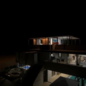 floorplans terrace bathroom outdoor architecture 3d