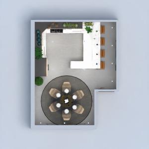 floorplans decoração cozinha iluminação sala de jantar arquitetura 3d