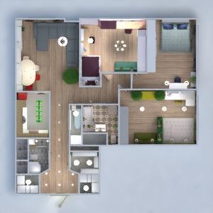 floorplans wohnung schlafzimmer küche renovierung esszimmer 3d