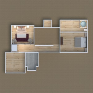 floorplans dom sypialnia 3d