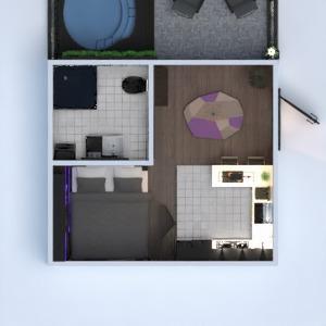 floorplans apartment bathroom bedroom kitchen studio 3d
