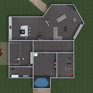 floorplans house terrace furniture decor bathroom bedroom living room garage kitchen kids room lighting household dining room architecture storage studio 3d