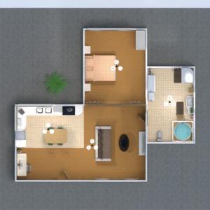floorplans apartamento cuarto de baño dormitorio 3d