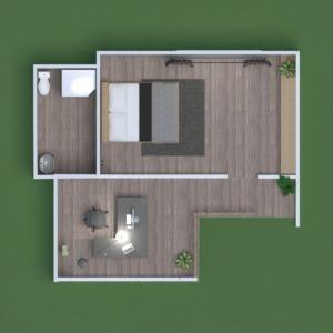 floorplans dom sypialnia kuchnia biuro 3d