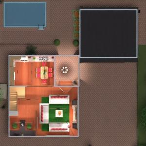 floorplans house furniture decor living room kitchen outdoor office 3d