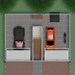 floorplans casa varanda inferior mobílias decoração faça você mesmo banheiro quarto quarto garagem cozinha área externa iluminação reforma paisagismo utensílios domésticos cafeterias sala de jantar despensa estúdio patamar 3d