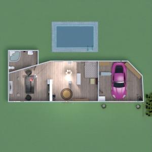 floorplans apartamento muebles cuarto de baño dormitorio salón 3d