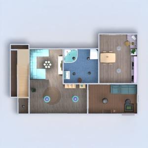 floorplans dom zrób to sam łazienka sypialnia pokój dzienny kuchnia remont wejście 3d
