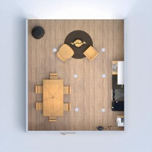 floorplans house living room kitchen lighting household 3d