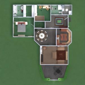 floorplans namas dekoras vonia miegamasis svetainė virtuvė vaikų kambarys apšvietimas valgomasis аrchitektūra prieškambaris 3d