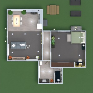 floorplans furniture bedroom kitchen landscape architecture 3d