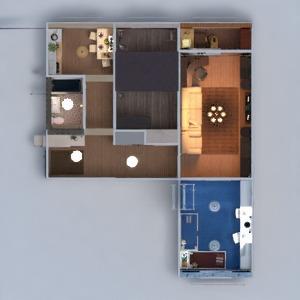 planos apartamento muebles decoración bricolaje cuarto de baño dormitorio salón cocina habitación infantil iluminación reforma hogar trastero descansillo 3d