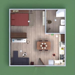 floorplans apartment house furniture decor diy bedroom living room kitchen lighting household architecture studio 3d