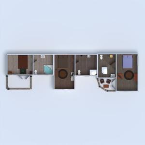 floorplans mieszkanie dom taras krajobraz 3d