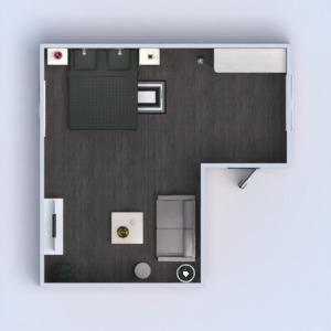 floorplans mobílias decoração dormitório arquitetura despensa 3d