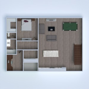 floorplans house bedroom outdoor landscape entryway 3d