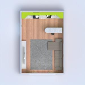 planos salón cocina 3d