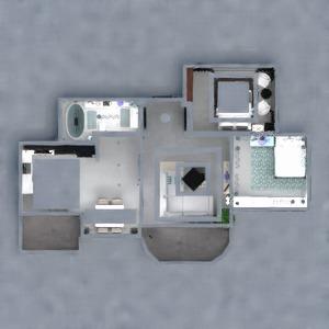 floorplans butas baldai dekoras vonia svetainė 3d