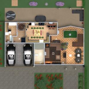 floorplans house furniture decor bathroom bedroom living room garage kitchen outdoor lighting dining room entryway 3d