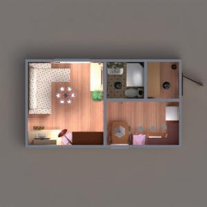 floorplans wohnung mobiliar dekor do-it-yourself badezimmer küche beleuchtung studio eingang 3d
