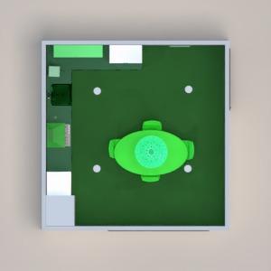 floorplans maison meubles salle à manger 3d