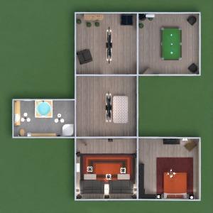 progetti casa angolo fai-da-te camera da letto sala pranzo 3d