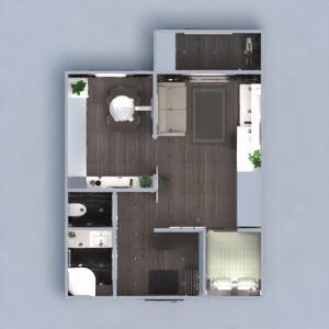 floorplans apartamento mobílias decoração casa de banho dormitório quarto cozinha escritório iluminação reforma despensa estúdio patamar 3d