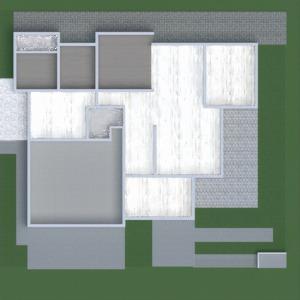 floorplans namas baldai dekoras svetainė virtuvė 3d