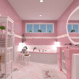 floorplans decor bathroom lighting 3d