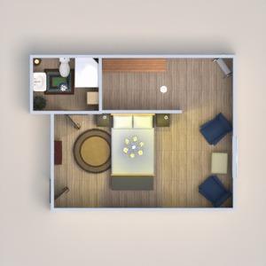 floorplans salle de bains chambre à coucher 3d