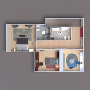floorplans house furniture household architecture 3d