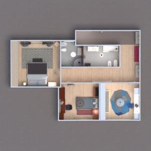 floorplans casa mobílias utensílios domésticos arquitetura 3d