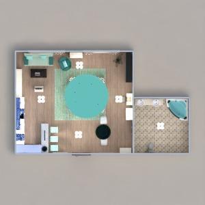 planos apartamento muebles decoración iluminación arquitectura estudio 3d