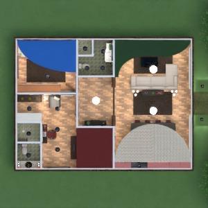 floorplans maison meubles salon cuisine architecture 3d