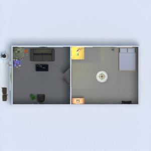 floorplans house furniture decor household architecture 3d