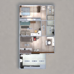 floorplans apartment furniture decor kitchen lighting household cafe dining room architecture storage studio entryway 3d