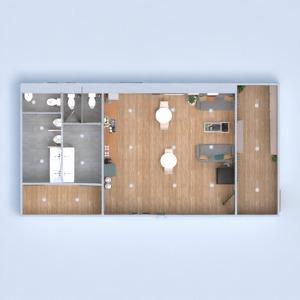 planos decoración cocina despacho cafetería 3d
