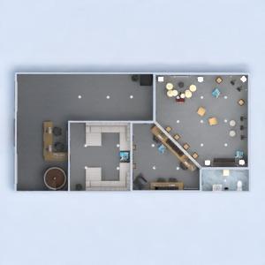 floorplans decorazioni illuminazione rinnovo architettura monolocale 3d