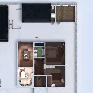 floorplans maison terrasse décoration paysage architecture 3d