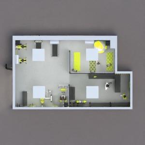 progetti decorazioni illuminazione architettura ripostiglio monolocale 3d