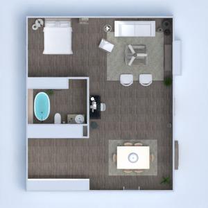 floorplans apartamento decoração 3d