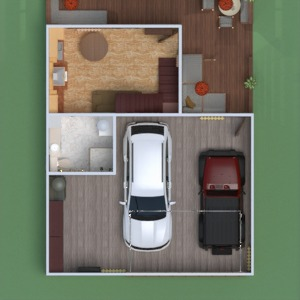 floorplans terrace garage outdoor 3d