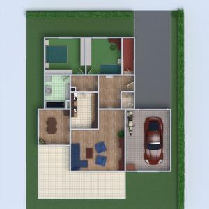 floorplans dom meble łazienka sypialnia pokój dzienny garaż pokój diecięcy 3d
