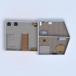 floorplans house furniture kitchen household dining room 3d